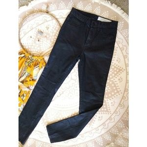 Treasure & Bond Jeans - Treasure & Bond | wax coated skinny jean